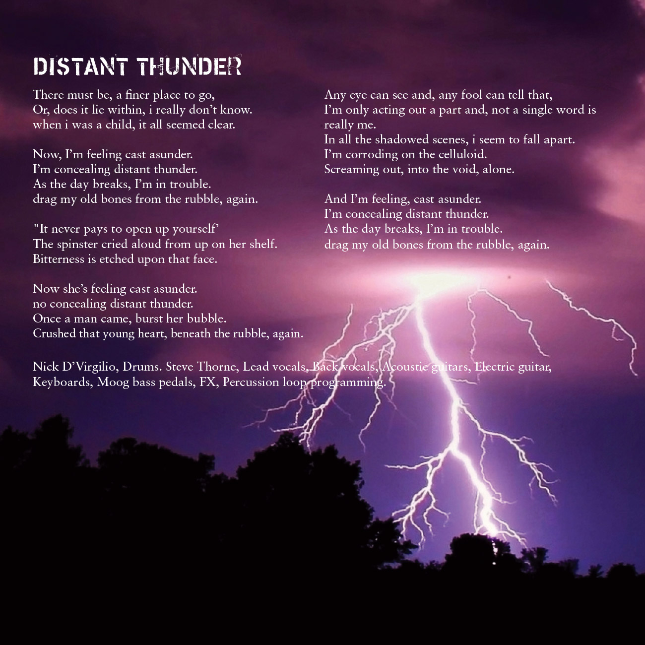 10 - Distant Thunder